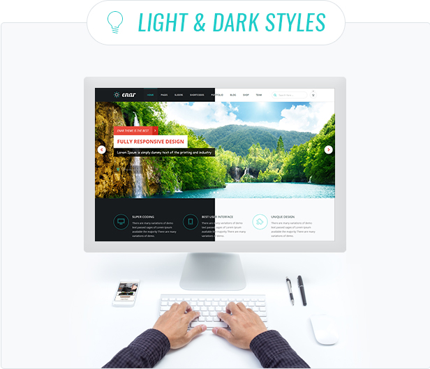 Enar - Responsive Multi-Purpose WordPress Theme